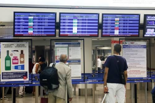 Sciopero Alitalia a Linate