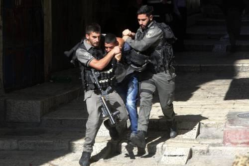 Scontri a Gerusalemme sulla spianata delle moschee 7