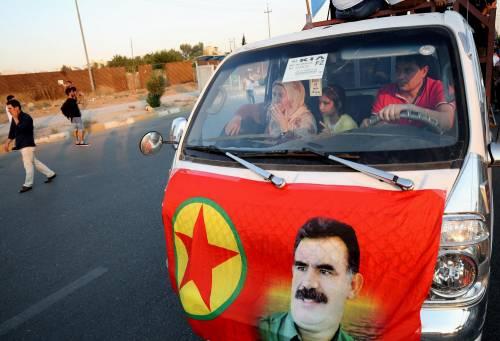 Dimostrazione pro-Pkk a Erbil 4