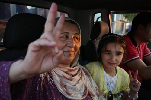 Dimostrazione pro-Pkk a Erbil 2