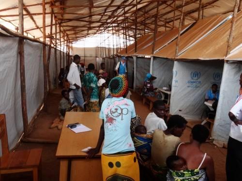 Il campo profughi di Mahama  4