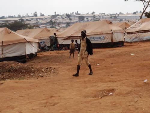 Il campo profughi di Mahama  7