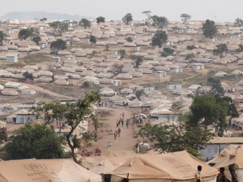 Il campo profughi di Mahama  6