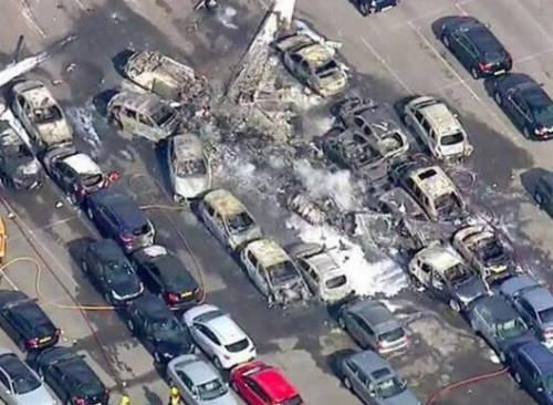 Jet privato si schianta in Inghilterra: morte sorella e matrigna di Bin Laden