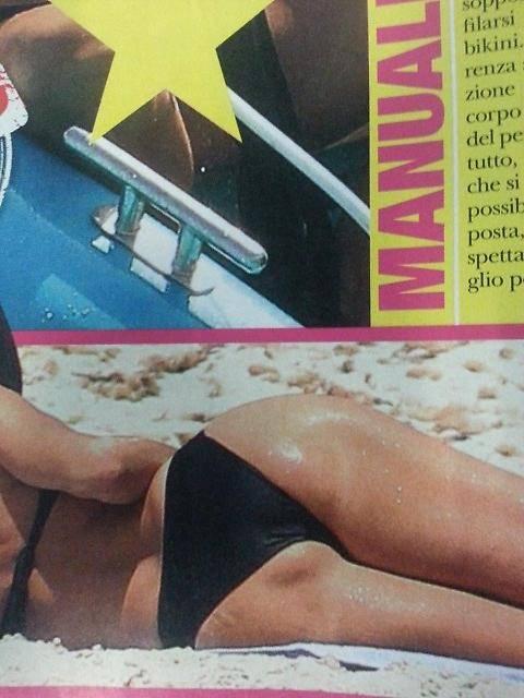 Alba Parietti, topless a Formentera 4