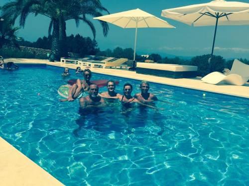 Alba Parietti, topless a Formentera 21