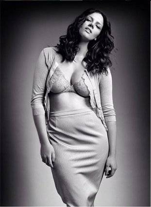 Tanya, modella curvy italiana a New York 15