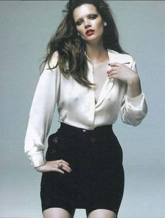 Tanya, modella curvy italiana a New York 17