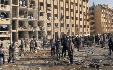 Studiare sotto le bombe: la vita degli universitari di Aleppo 6