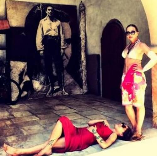 Naike Rivelli e Yari Carrisi: amore benedetto dalle mamme 3