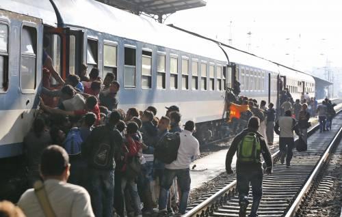 L'assalto del treno a Budapest 4
