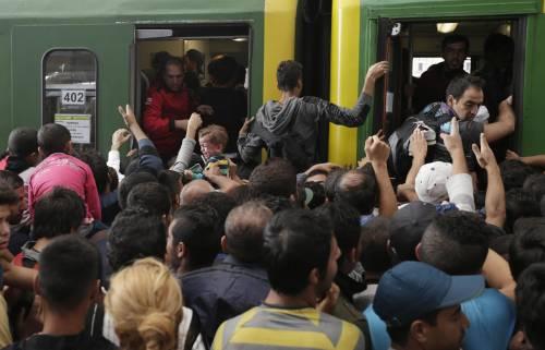 L'assalto del treno a Budapest 6