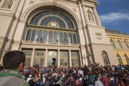 L'assalto del treno a Budapest 13