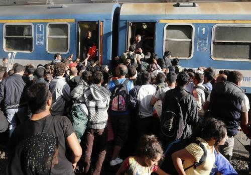 L'assalto del treno a Budapest 11