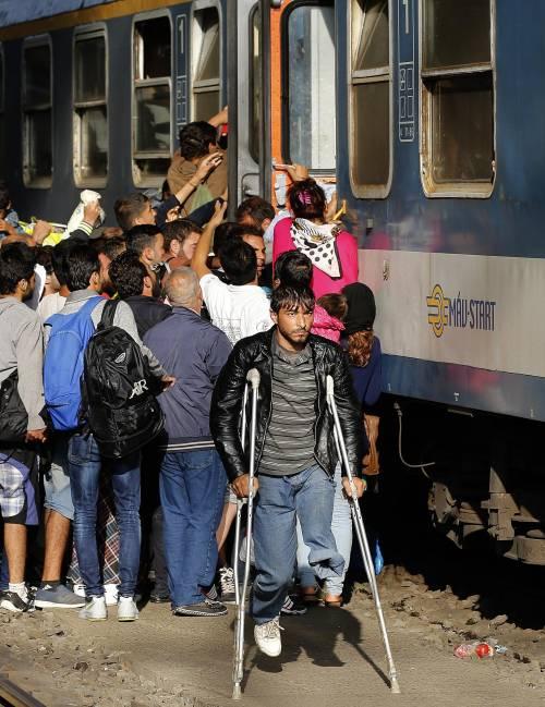 L'assalto del treno a Budapest 14