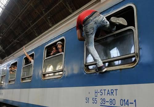 L'assalto del treno a Budapest 16