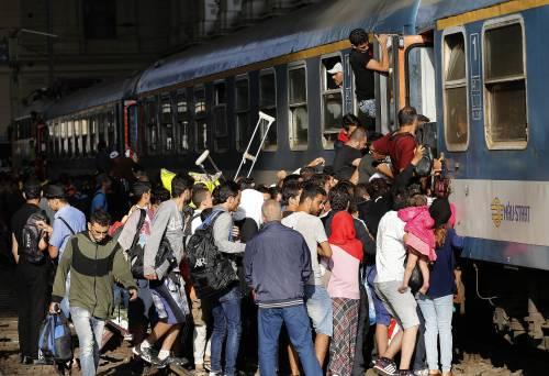 L'assalto del treno a Budapest 20