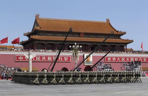 La sfilata dell'esercito cinese 6