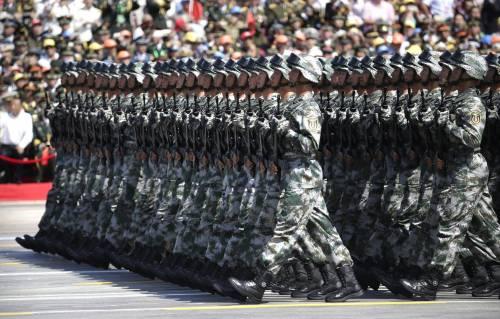 La sfilata dell'esercito cinese 5