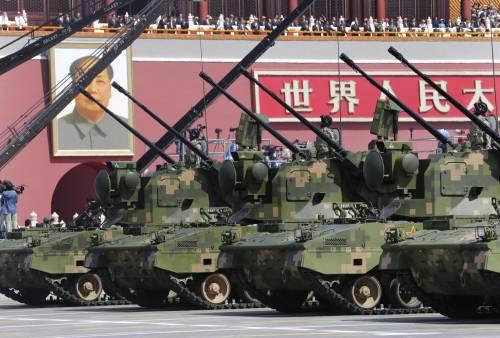 La sfilata dell'esercito cinese 4