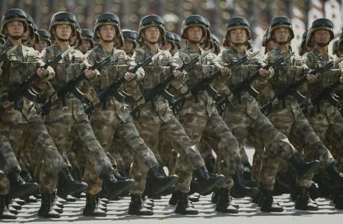 La sfilata dell'esercito cinese 7