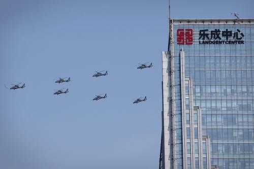 La sfilata dell'esercito cinese 8