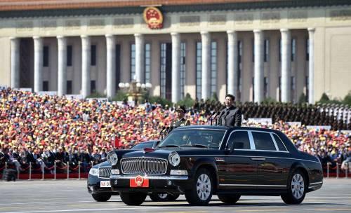 La sfilata dell'esercito cinese 9