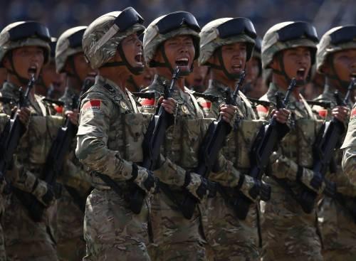 La sfilata dell'esercito cinese 11