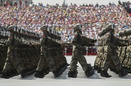 La sfilata dell'esercito cinese 10