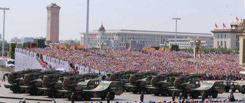 La sfilata dell'esercito cinese 13