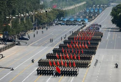 La sfilata dell'esercito cinese 12