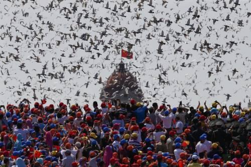 La sfilata dell'esercito cinese 15