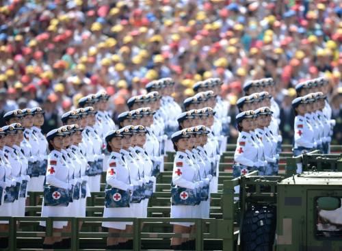 La sfilata dell'esercito cinese 20
