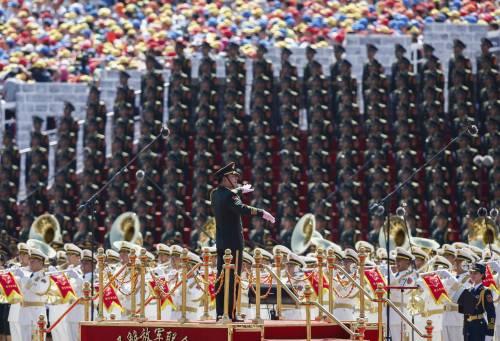 La sfilata dell'esercito cinese 19