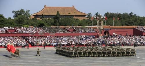 La sfilata dell'esercito cinese 18
