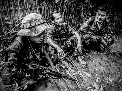 Volontari dell'Esercito di liberazione Karen - © Fabio Polese