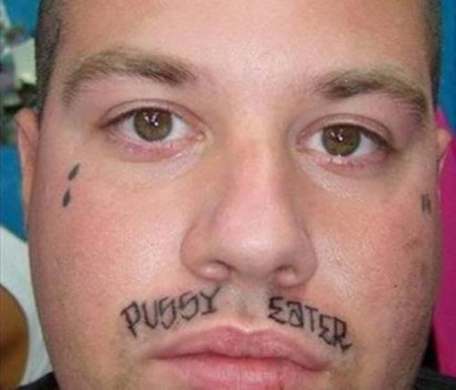 Tatuarsi la faccia. Le foto più strane 6