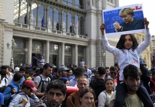 La marcia a piedi dei profughi 11