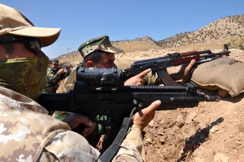 I parà addestrano le truppe curde in Iraq 8