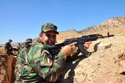 I parà addestrano le truppe curde in Iraq 6