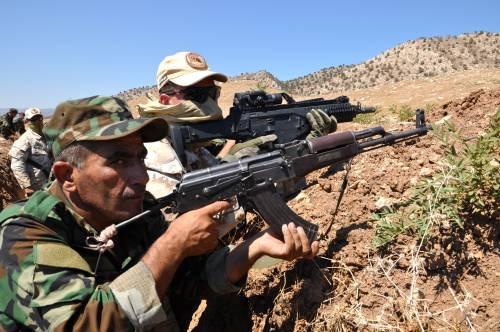 I parà addestrano le truppe curde in Iraq 9