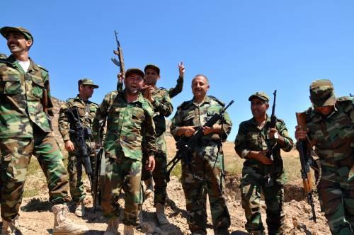 I parà addestrano le truppe curde in Iraq 13