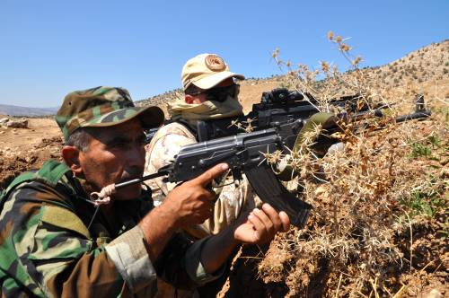 I parà addestrano le truppe curde in Iraq 14