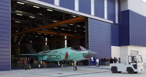 Il battesimo dell'aria del primo F35