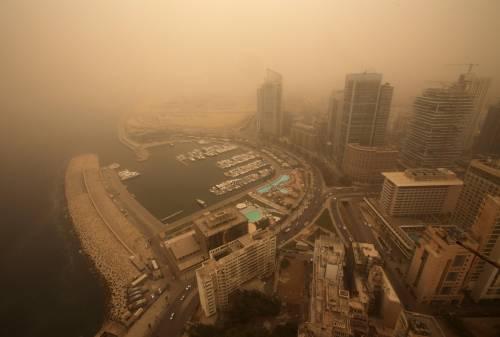 Tempesta di sabbia sul Medioriente 6