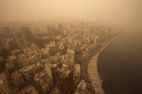 Tempesta di sabbia sul Medioriente 3