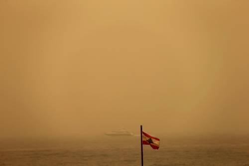 Tempesta di sabbia sul Medioriente 7