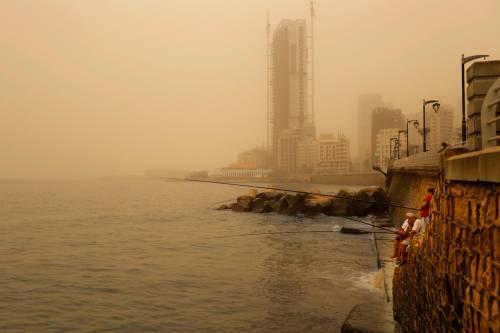 Tempesta di sabbia sul Medioriente 8