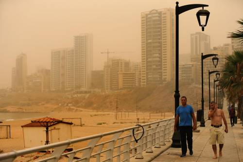 Tempesta di sabbia sul Medioriente 9