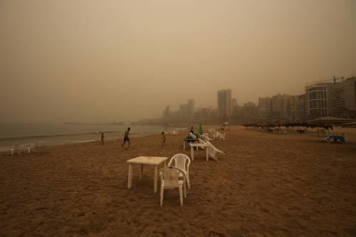 Tempesta di sabbia sul Medioriente 10